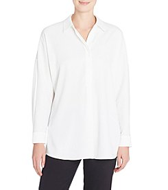 Catherine Malandrino Simple Oversized Blouse