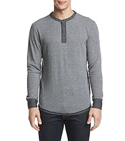 Retrofit Men's Knit Henley Long Sleeve Shirt