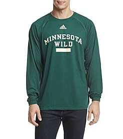 adidas NHL® Minnestoa Wild Men's Marked Long Sleeve Tee