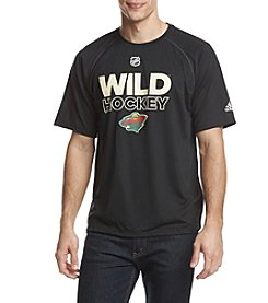 adidas NHL® Minnesota Wild Men's Graphic Tee