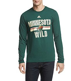 adidas NHL® Minnesota Wild Men's Long Sleeve Tee