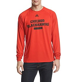 adidas NHL® Chicago Blackhawks Men's Marked Long Sleeve Tee