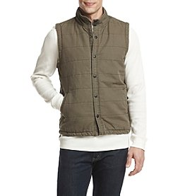 UNIONBAY Men's Cameron Canvas Quilted Vest