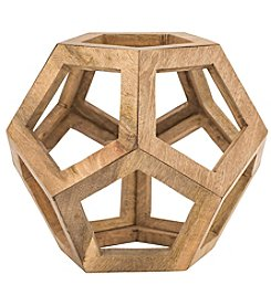 Dimond Wooden Honeycomb Orb