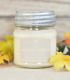 Antique Candle Works. Autumn Leaves 8-oz. Mason Jar Candle