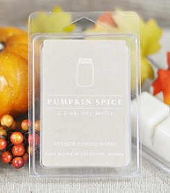 Antique Candle Works. Pumpkin Spice Soy Melts
