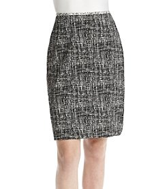 Calvin Klein Graffiti Pencil Skirt