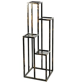 Ore International 4-Tier Cast-Iron Plant Stand