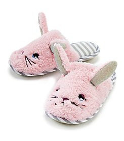 70dc3d46290 PJ Couture Girls  Critter Bunny Slippers