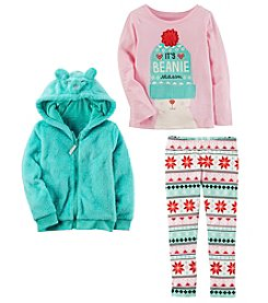 Carter's Girls' Hoodie, Long Sleeve Top and Leggings Collection