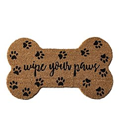 John Bartlett Pet Wipe Your Paws Coir Mat