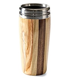Dickenson 16 oz Wood Travel Mug