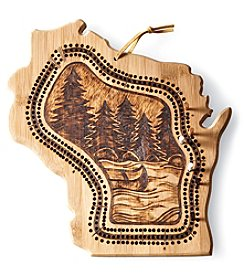 North Country Wisconsin Craft Cribbage Board