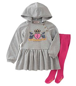 Juicy Couture Girls' 12 Months- 4T Tunic and Tights Set