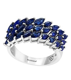 Effy Royale Bleu Collection 14K White Gold Sapphire Ring