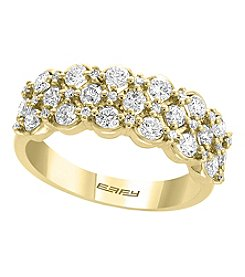 Effy® D'Oro Collection 14K Gold .96 Ct. T.W. Diamond Ring