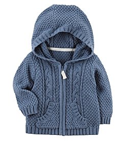Carter's Baby Boys' Zip Up Cable Knit Cardigan