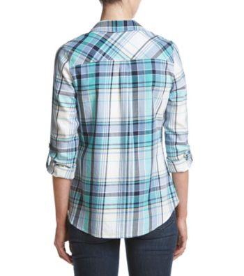 Relativity Collared Plaid Shirt