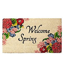 Living Quarters Welcome Spring Coir Mat