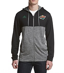 adidas NHL® Minnesota Wild Men's Full Zip Hoodie