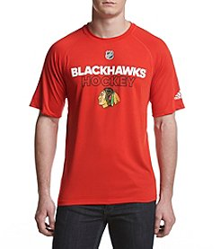 adidas NHL® Chicago Blackhawks Men's Climalite Tee