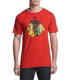 adidas NHL® Chciago Blackhawks Men's Primary Logo Tee