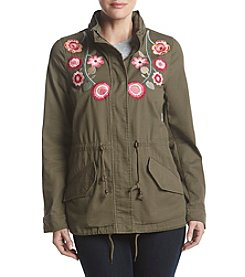 Bagatelle Embroidered Anorak Coat