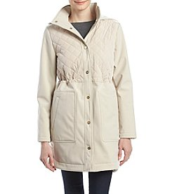 Ivanka Trump Snap Front Anorak Hooded Coat
