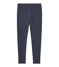 Polo Ralph Lauren Girls' 7-16 Polka Dot Leggings