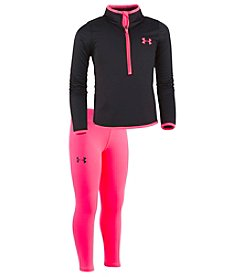 Under Armour Baby Girls' Teamster Track Set