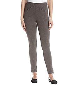 Anne Klein Herringbone Compression Pants