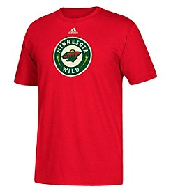 Adidas NHL® Minnesota Wild Men's Primary Logo Tee