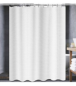 PB Home Diamond Shower Curtain