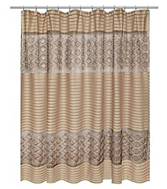 PB Home Spindle Shower Curtain