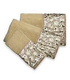 PB Home Sinatra Champagne Gold 3-Piece Towel Set