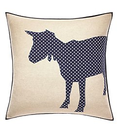 ED Ellen Degeneres Freestanding Goat Square Throw Pillow