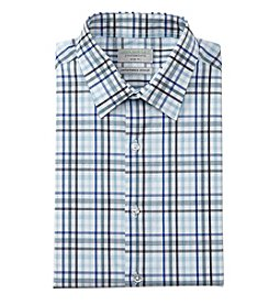 John Bartlett Statements Men's Plaid Slim Fit Dress Shirt