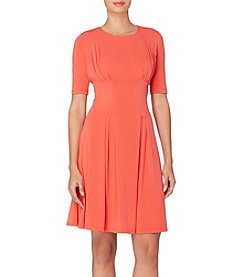 Catherine Malandrino Pleated Fit and Flare Dress