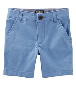 OshKosh B'Gosh Boys' 4-14 Flat Front Shorts