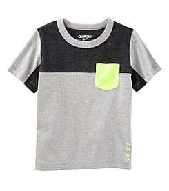 OshKosh B'Gosh Boys' 4-14 Short Sleeve Color Block Active Tee