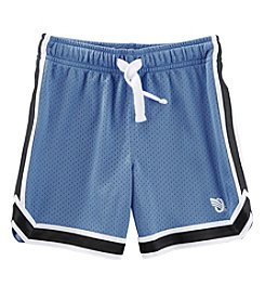 OshKosh B'Gosh Boys' 4-14 Mesh Shorts With Side Stripes