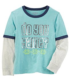 OshKosh B'Gosh Boys' 4-14 Layered Look Graphic Tee