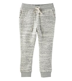 Oshkosh B'Gosh Boys' 2T-14 Marled French Terry Joggers