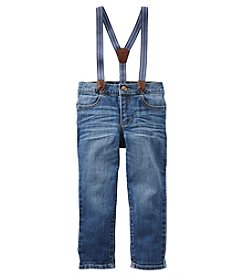 OshKosh B'Gosh Boys' 2T-5T Suspender Jeans