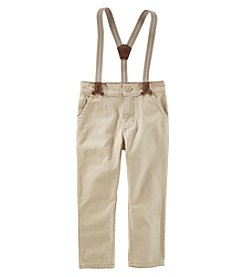 OshKosh B'Gosh Boys' 2T-5T Suspender Pants Expedition