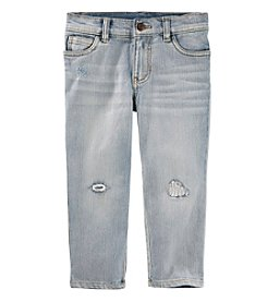 OshKosh B'Gosh Boys' 2T-5T Rip And Repair Jeans