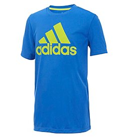 adidas Boys' 8-20 Short Sleeve Badge Of Sport Tee