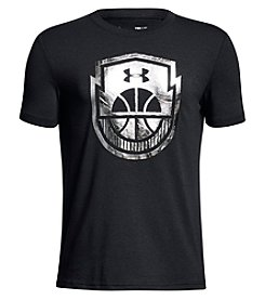 Under Armour Boys' 8-20 Short Sleeve Basketball Icon Tee