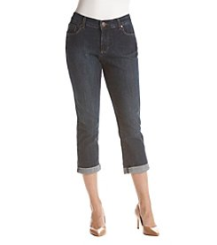Relativity Rolled Up Cuffs Capri Jeans