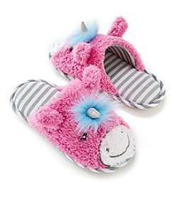 82884f663ad PJ Couture Critter Unicorn Slippers